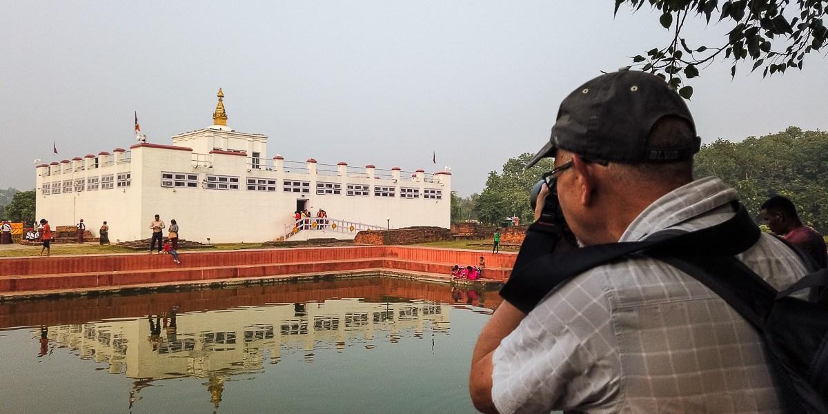 Photographing Buddha's Birthplace