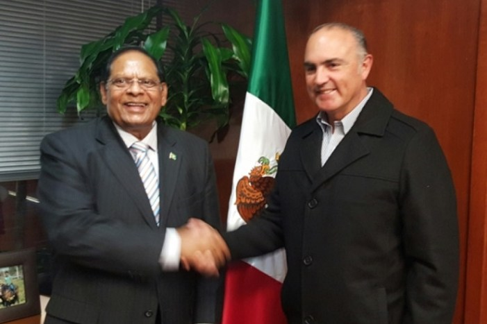 Guyana, Mexico serve up rice deal