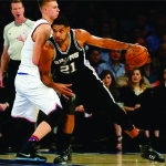 Tim Duncan of the San Antonio Spurs grabs the record for most wins of any player with one team.