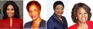 Lisa Hanna, Israel Minna, Anne-Marie Campbell and Constance Witter By Claudette de la Haye Caribbean Financial Network News