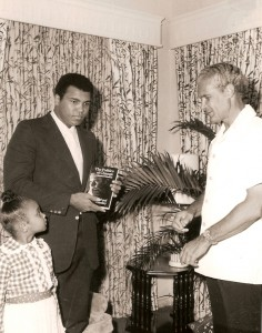 Muhammad Ali visited Jamaica in 1979 as a guest of then-PM Michael Manley. Oscar Wailoo remembers Ali: