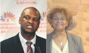 Chris Alexander COO, FMC and Monica Pollard Chairman, CAG