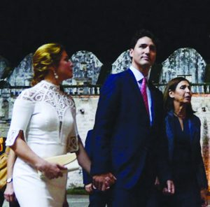 Justin and Sophie Gregoire - Trudeau in Havana