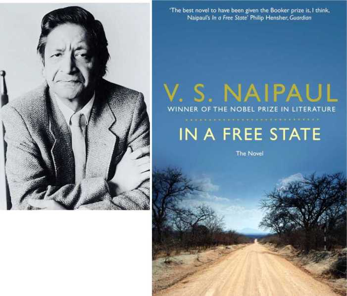 V.S. Naipaul on  the shortlist for the Golden Man Booker Prize