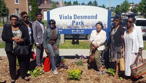 Toronto park named after Black civil rights activist