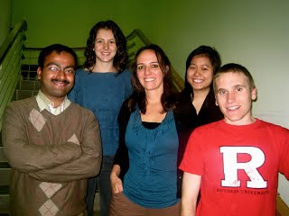 End of semester departmental luncheon (Fall 2011)