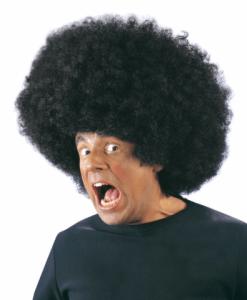 BLACK OVERSIZED JIMMY WIG