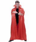 RED LINED SATIN CAPE 2