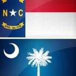 NC SC Flags