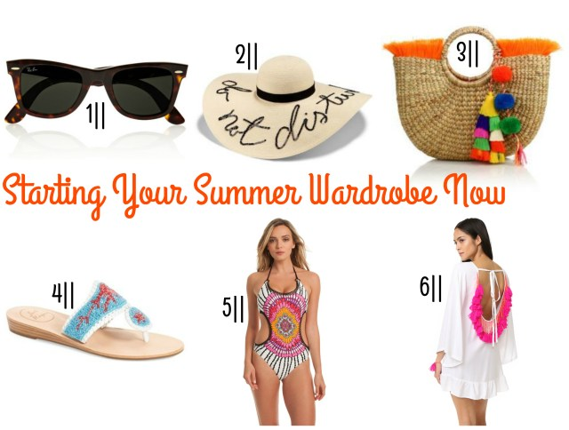 the carolove Starting Your Summer Wardrobe Now
