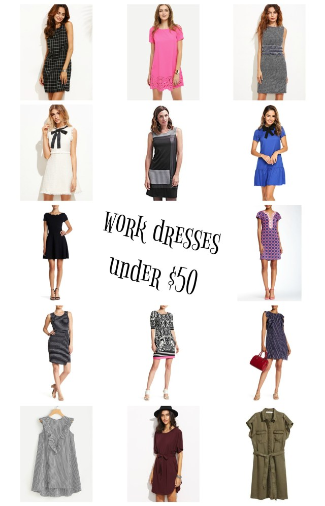 the carolove work dresses under $50