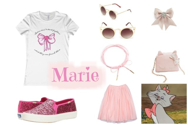 the carolove disneybound marie aristocats