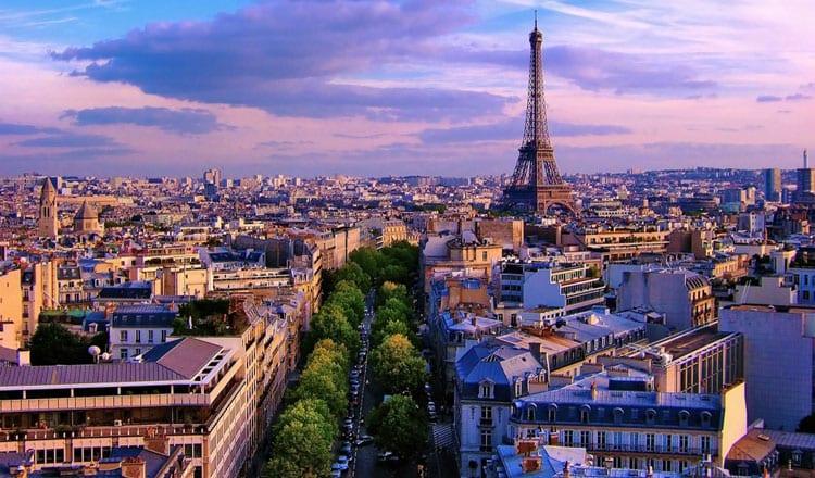 Paris romantic