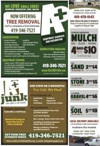 Tree Removal, Junk Removal & Bulk Mulch, Fill sand, Stone, Gravel & topsoil