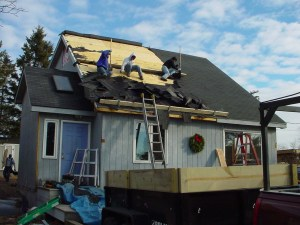 Duluth, MN construction home remodeling roofing Job