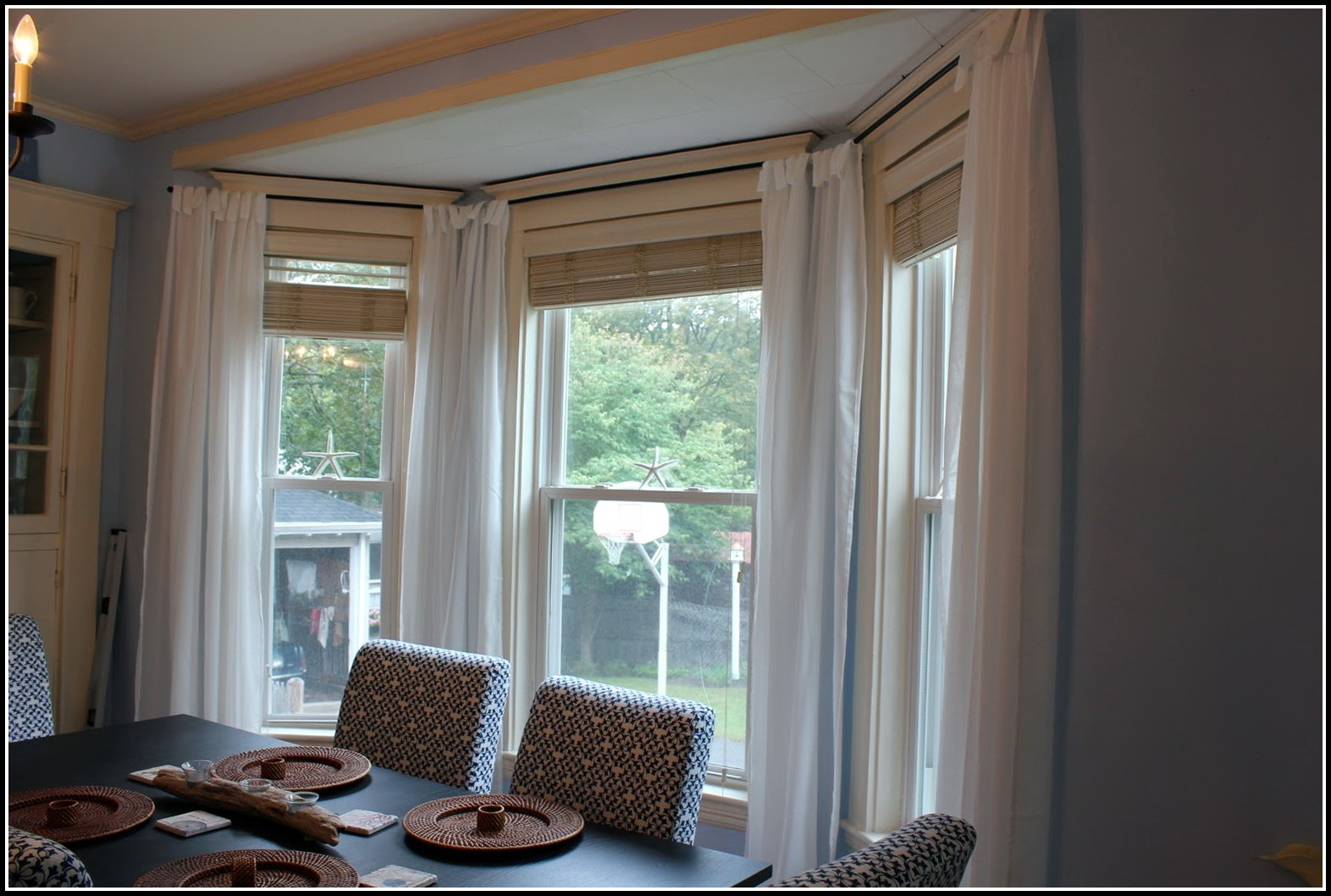 3 Bay Window Curtain Ideas