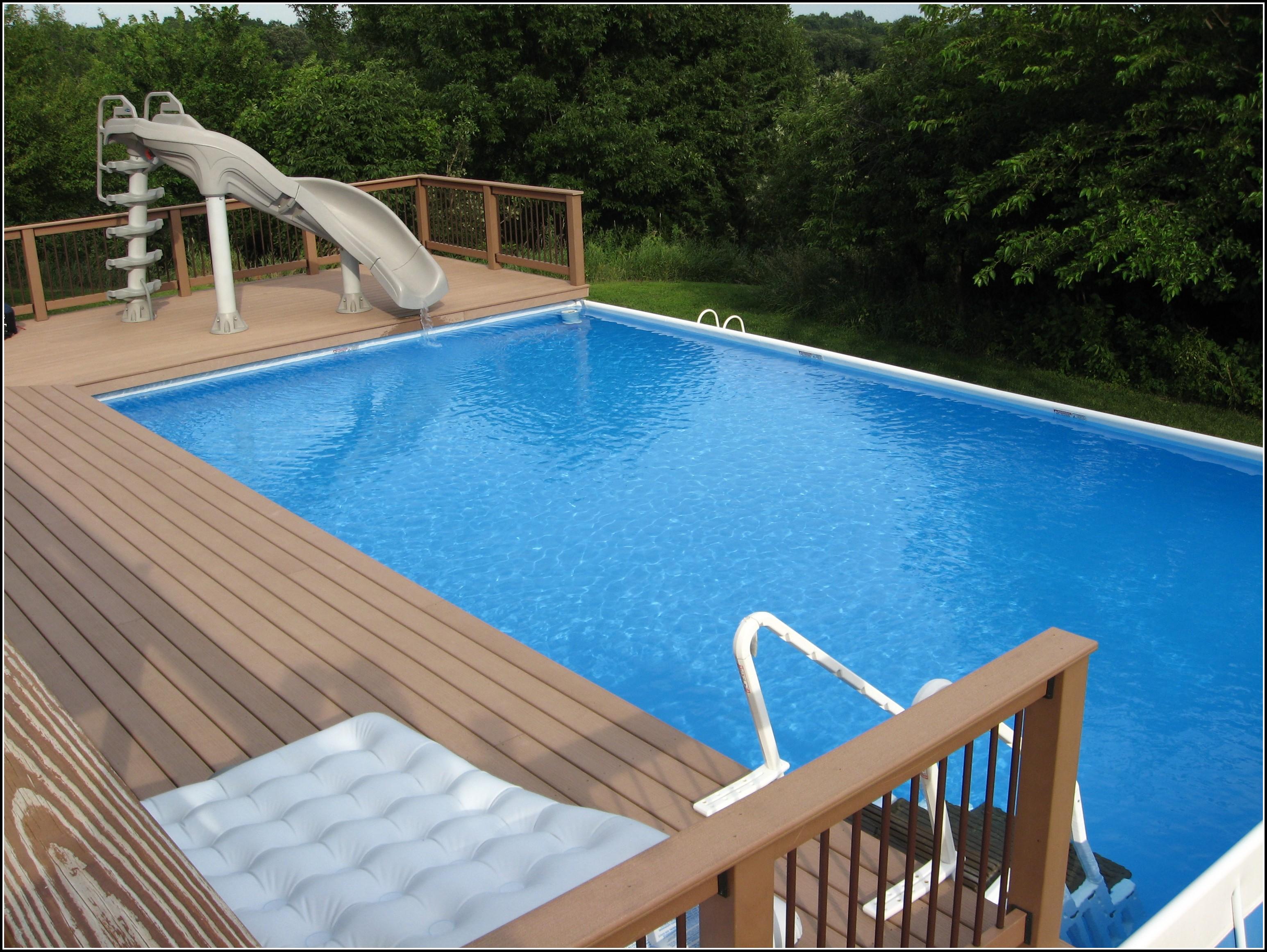 Decks Around Above Ground Swimming Pools Decks Home