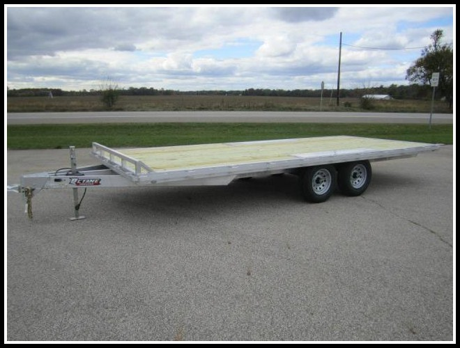 Aluminum Deck Over Trailer