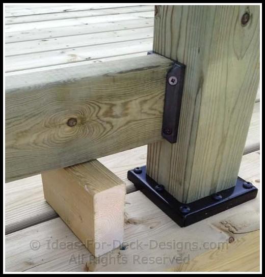 Attaching Deck Railing Posts