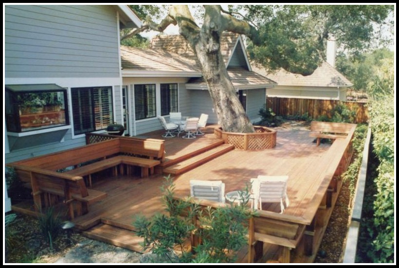 Backyard Decks For Small Spaces