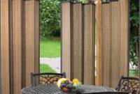 Bamboo Curtain Panels Outdoor