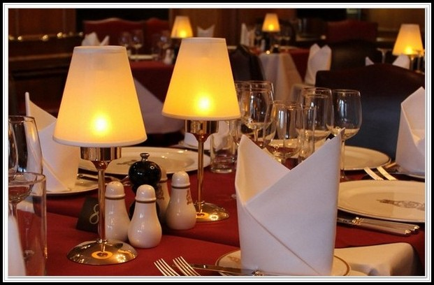 Battery Operated Table Lamps For Restaurants