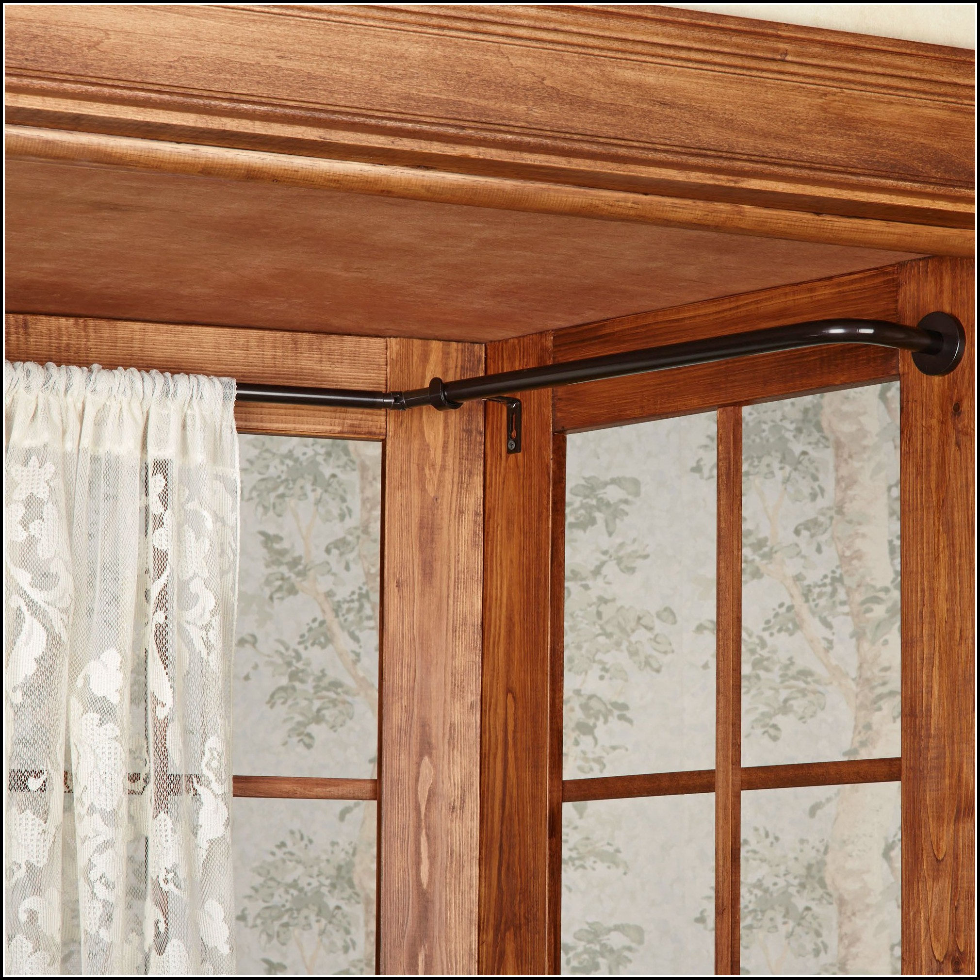 Bendable Curtain Rods For Bay Windows