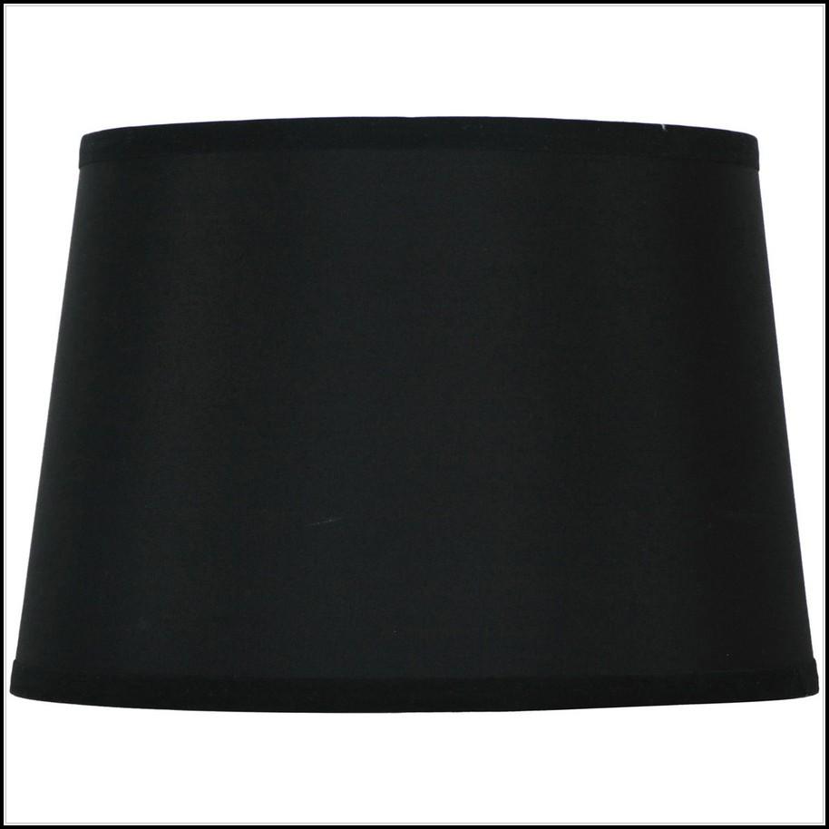 Black Barrel Lamp Shade