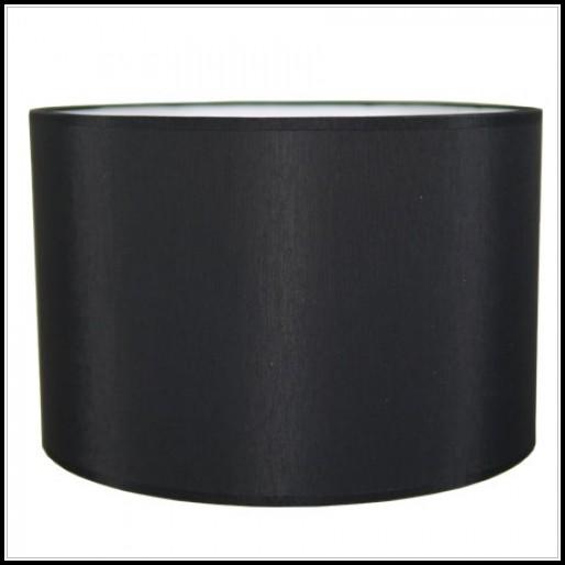 Black Drum Lamp Shade
