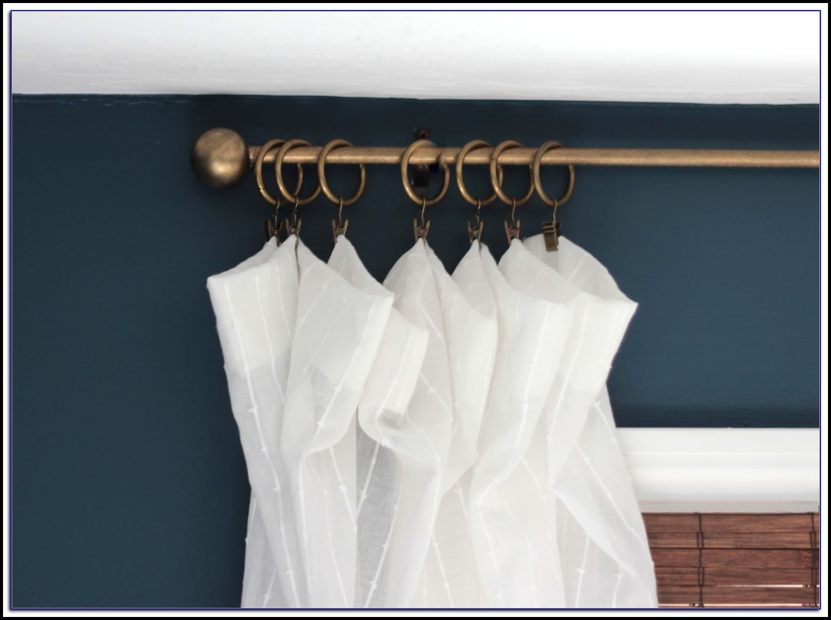 Brass Curtain Rods Amazon
