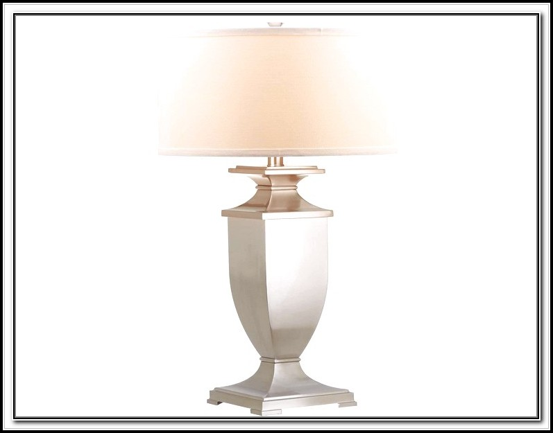 Brushed Nickel Table Lamps Walmart