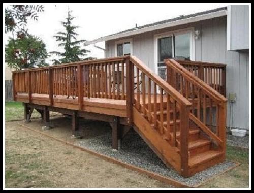 Build Deck Stair Railing