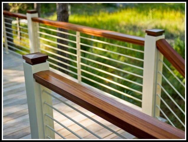 Building Deck Railing Diy