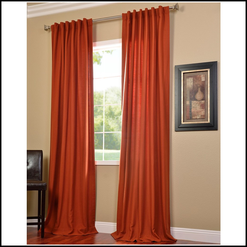 Burnt Orange Curtains Target