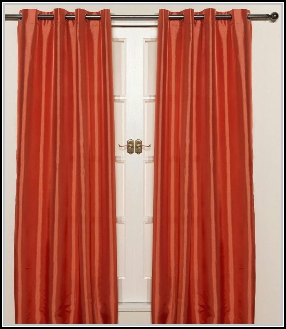 Burnt Orange Curtains Walmart