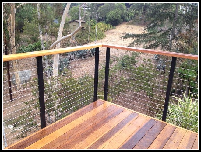 Cable Deck Railing Diy