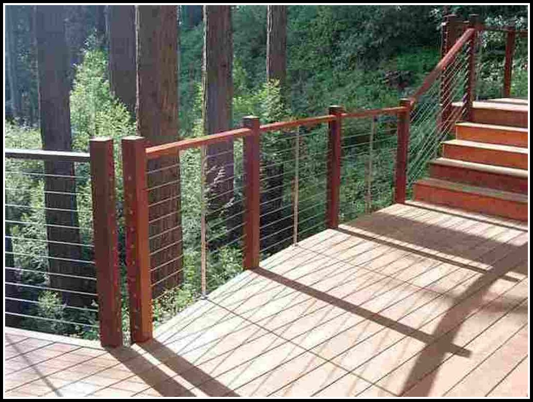 Cable Deck Railing Kits