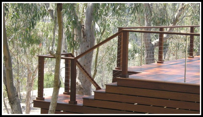 Cable Deck Railing Stairs
