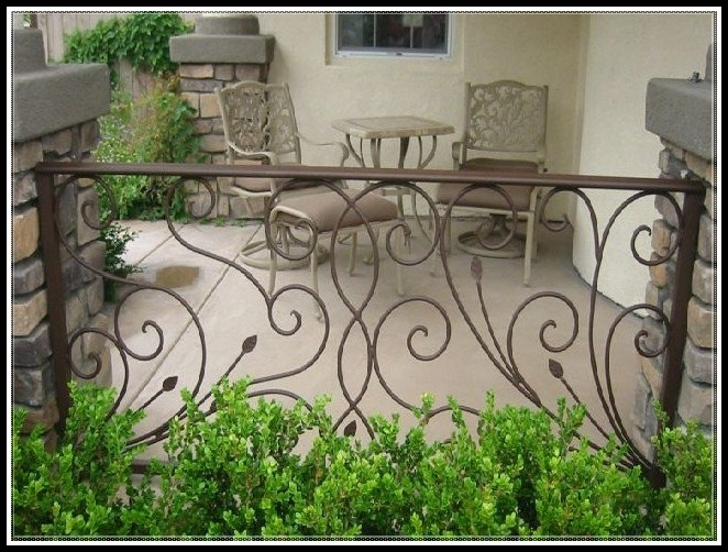 Cast Iron Deck Railing