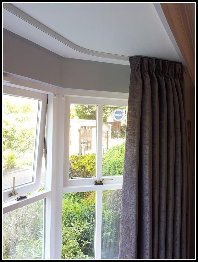 Ceiling Curtain Track Bay Window