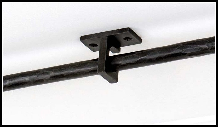 Ceiling Mount Brackets For Curtain Rods