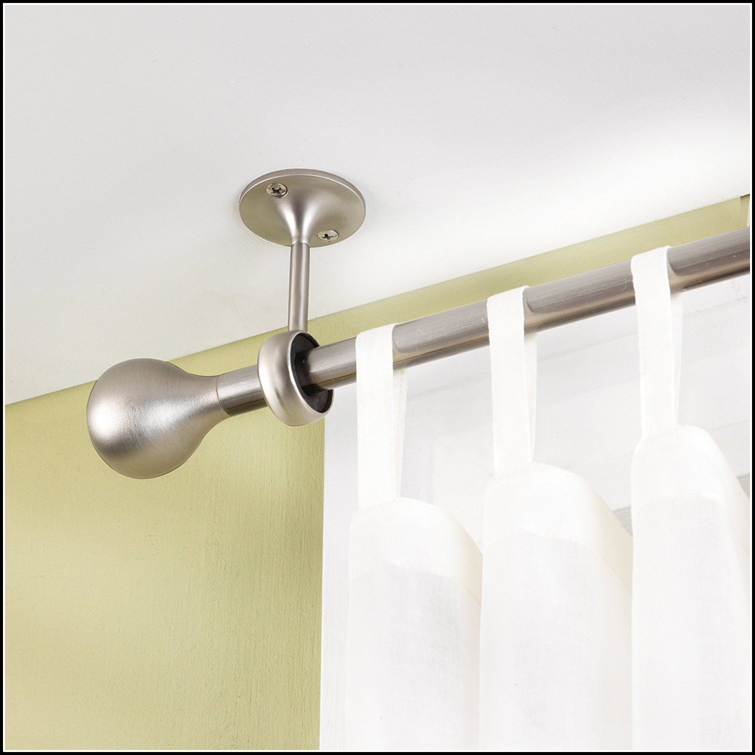 Ceiling Mounted Curtain Rods