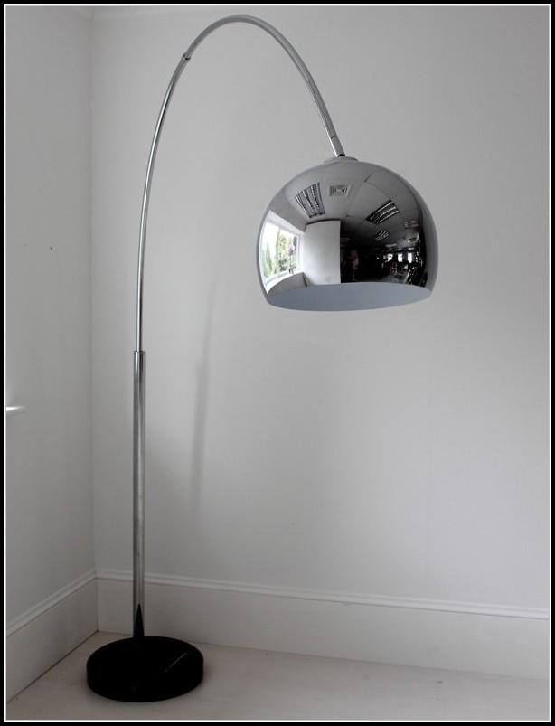 Chrome Arch Floor Lamp