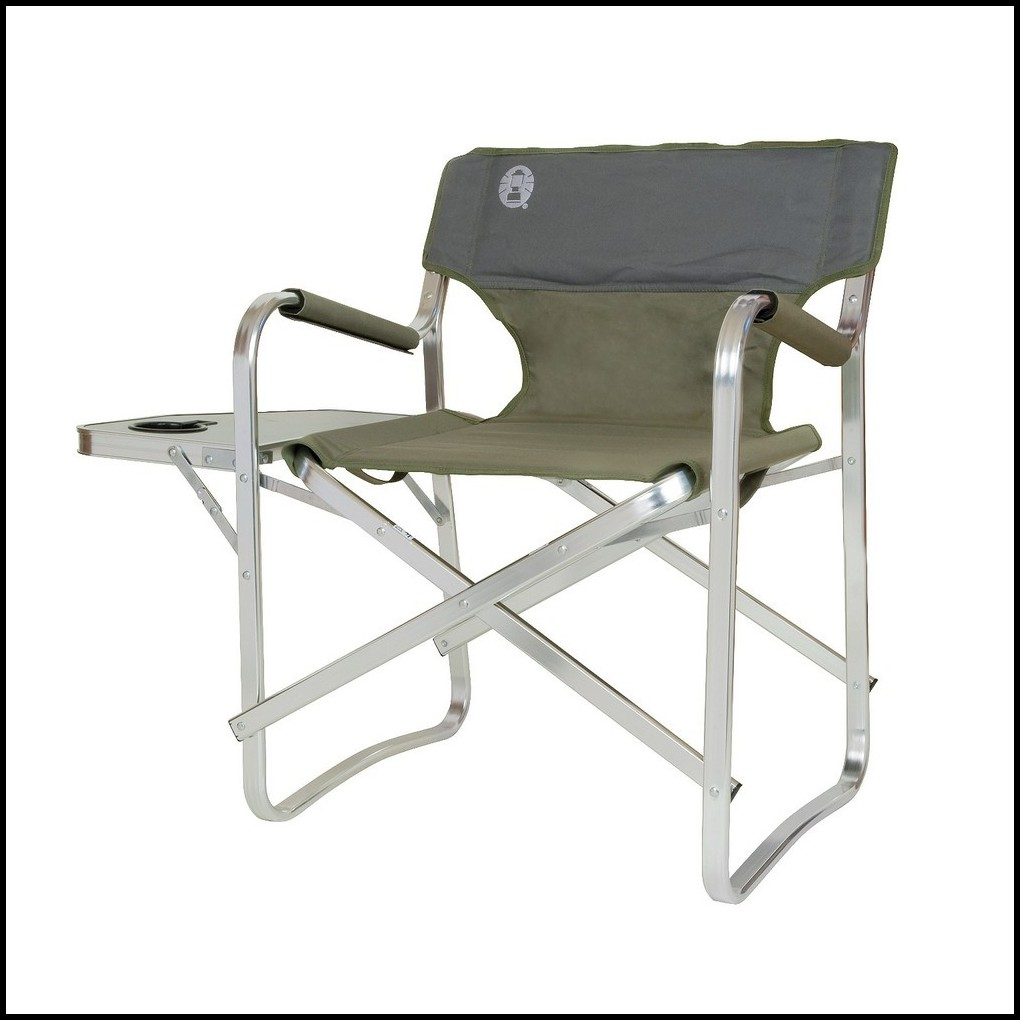 Coleman Portable Deck Chair With Table