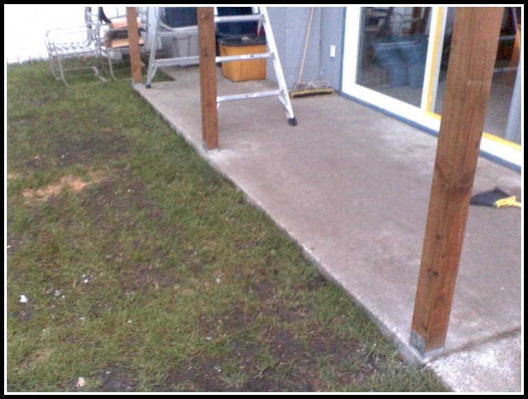 Concrete Footings For Deck Posts