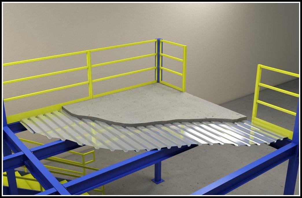 Corrugated Steel Floor Decking