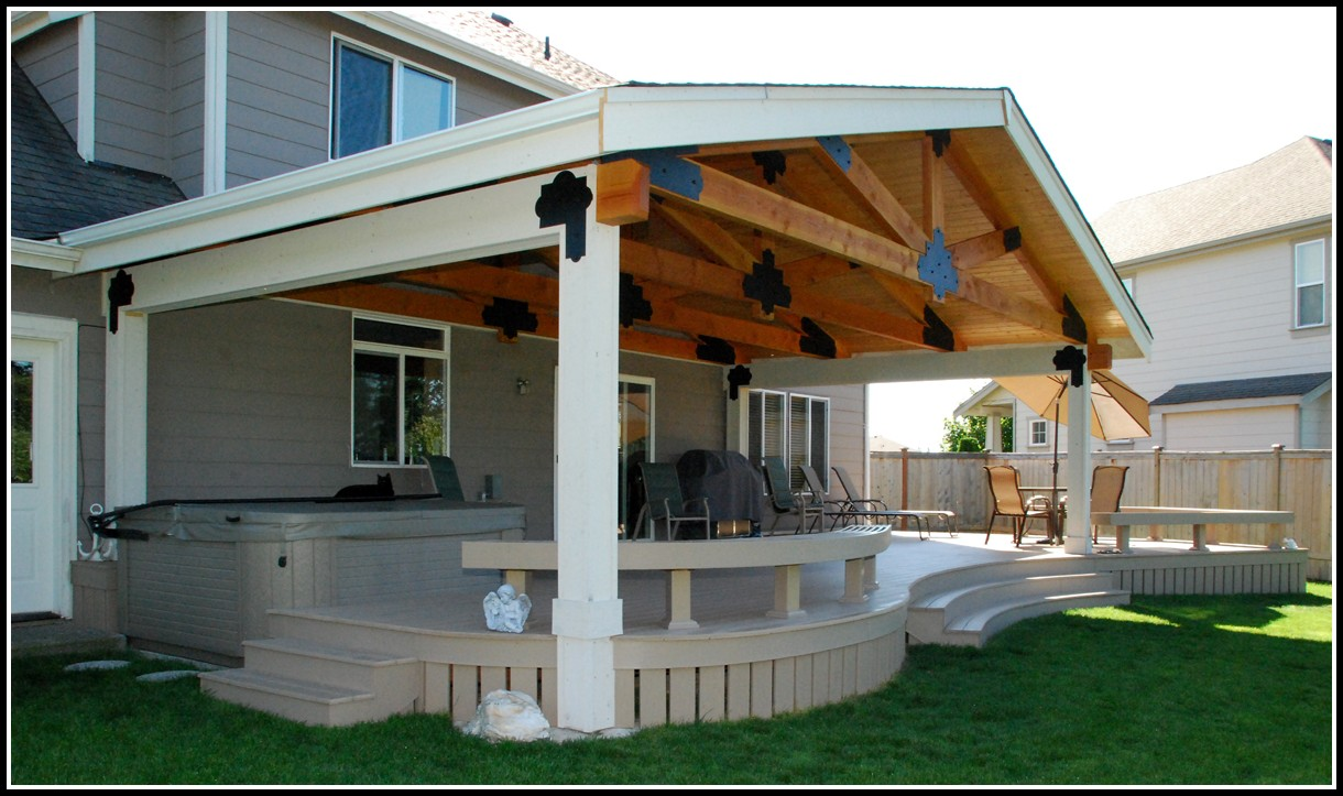 Covered Deck Designs Images