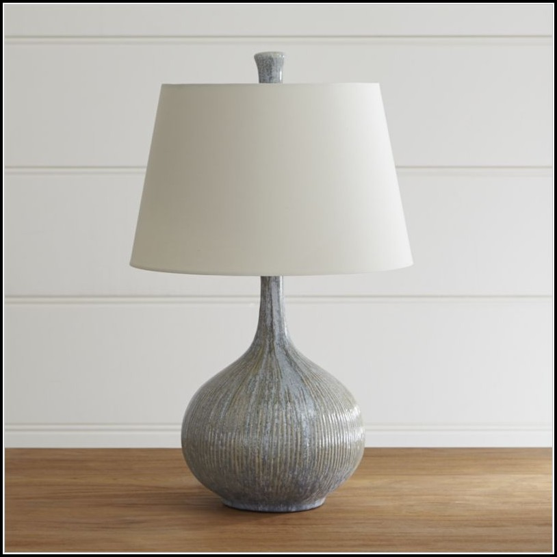 Crate And Barrel Shaye Table Lamp