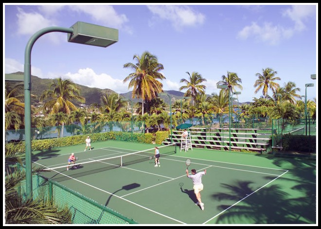 Curtain Bluff Antigua Tennis