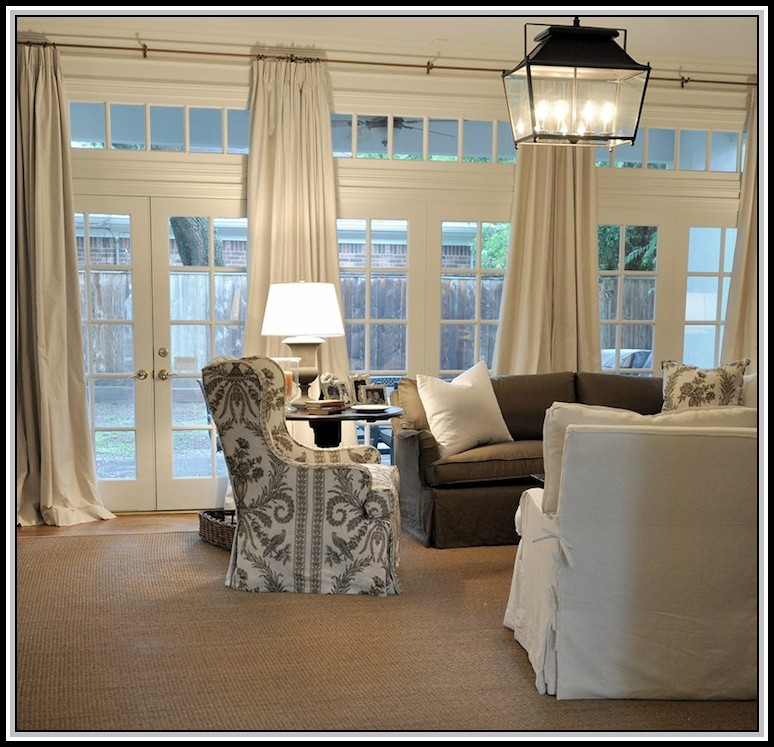 Curtains For French Doors In Living Room